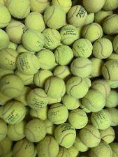 100 gebrauchte Tennisbälle