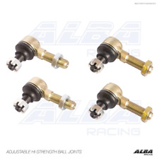4 x NEW Yamaha  tie rods end ball joints 10mm shafts  Alba Racing