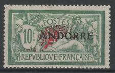 "ANDORRE STAMP TIMBRE 22 "" MERSON 10F VERT ET ROUGE "" NEUF xx TTB  M793"