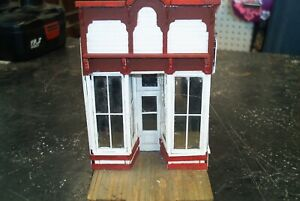 O Scale Silverplume Colorado False Front Store Built Needs Work