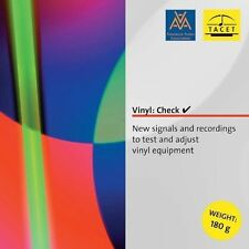 Vinyl: Check - New Signals and Recordings to Test and Adjust Vinyl Equipment, Ne