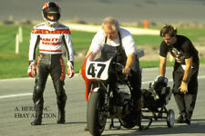 Harley-Davidson VR 1000 factory racer Miguel DuHamel Daytona 1994 debut photo