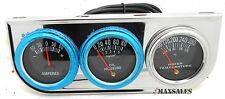 Racing Triple Gauge Kit Amp Water Temp Oil Car & Truck Parts Automotive NEW