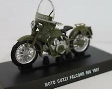 Die cast 1//24 Modellino Moto Polizia Police Moto Guzzi Falcone 500 1967 verde