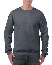 Gildan Men's Heavy Blend Crewneck Sweatshirt - X-Large - Dark Heather