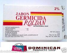 Roldan Dominican Jabon germicidal soap antipruritic antimicrobial kill bacteria