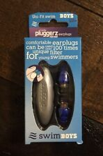 Little Pluggerz Uni-Fit Swim Earplugs Safety Hearing Noise Protection For Kids