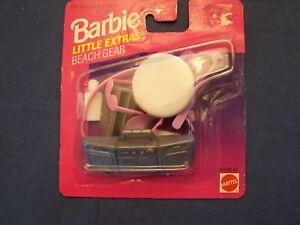 Mattel Barbie's Little Extras Beach Gear Etc 1996 Accessories New In Package