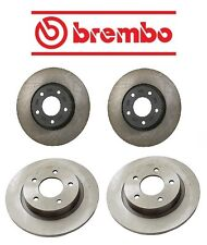 Mazda 3 L4 2.3L 2004-2005 Front & Rear Disc Rotors Brake KIT Original Brembo