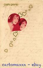 """Raphael Kirchner Postcard - """"Cover Dame"""" - K090"""