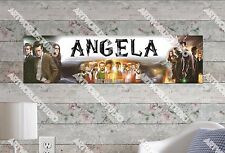 Personalized/Customized Doctor Who Name Poster Wall Art Decoration Banner