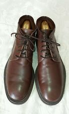 Cable & Co. brown leather boots sz 11 D made in Italy