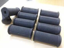 5 x BMW FOOTREST RUBBER R69S R75/5 R90/6 R90S SQUARE HOLE **wholesale **