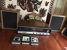 Vintage Panasonic 8 track Player Receiver AM FM Multiplex Radio Model 7800 Works