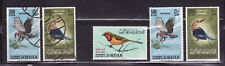 Jordan mnh and used stamps mi#490-492 birds 1964