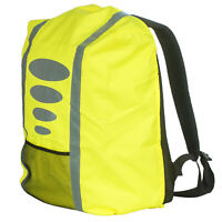 Regenschutz für Schulranzen Rucksack Schutzhülle Reflektor Überzug mit Tasche