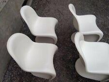 4 Sedie Panton Chair Herman Miller Designe Vintage Epoca Very Rare