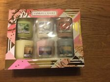 Yankee Candle Home Inspiration Gift Set. 6 x 49g votive candles. Assorted Scents