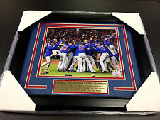 2016 CHICAGO CUBS WORLD SERIES CHAMPIONS TEAM FRAMED PHOTO 8X10 CELEBRATION
