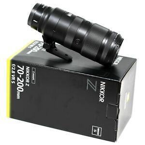 Nikon NIKKOR Z 70-200mm f/2.8 VR S - UK NEXT DAY DELIVERY