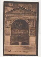 Pompei Fontana Della Casa Dell Orso Italy Vintage Postcard 894a
