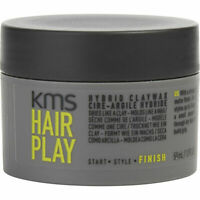 Kms Hair Play Hybrid Claywax 50ml Styling Hair Clay