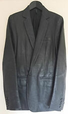 DIOR HOMME FW03 Runway Grail LUSTER bison LEATHER Jacket RARE HEDI SLIMANE 46 48