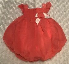 cea8266cea5 Baby Essentials Baby Girl Bubble Romper Size 6 Months In EUC (BIN AG)