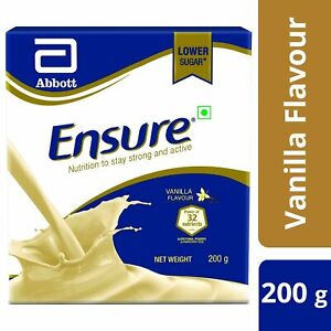 Abbott Ensure Complete & Balanced Nutrition for Adults Vanilla Flavor 200gm