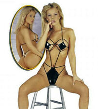 Lack Body schwarz Lackbody Spider Sexy Dessous Stringbody Erotic Lingerie  S - L