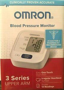 Omron BP7100 Upper Arm 3 Series Blood Pressure Monitor NEW