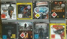9 x Playstation 3 Videospiele Konvolut Sammlung Games