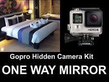 **GOPRO Hidden Camera Kit, Spy Camera! One / Two Way Mirror DISCOUNTED RETURNS**