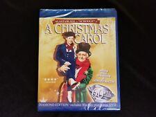 A Christmas Carol Diamond Edition 60th Ann Blu ray+DVD,New
