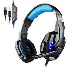 Boom Video Game Headsets with Microphone Mute Button for