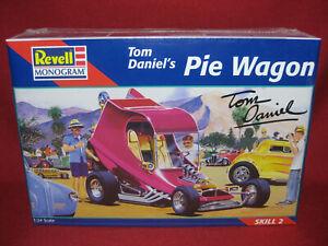 Pie Pizza Taco Wagon Tom Daniel Custom Show Rod Revell-Monogram 1:24 Kit 2498