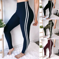 Women's High Waist Yoga Pants Stretchy Leggings Fitness Gym Sports Trousers G13