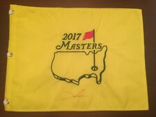 Jon Rahm Signed Masters Flag  Certificate Of Authenticity