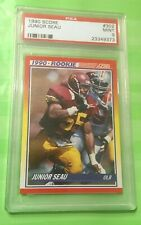 1990 Score #302 Junior Seau RC PSA 9 Scratch-Free Case!!