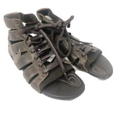 Nike Size 5 M Brown Gladiator Synthetic Women Sandal Shoes