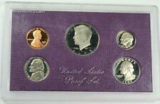 1985 US Mint 5 Coin Proof Set without Box