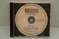 3 Doors Down - Live for Today (Promo CD Single, 2005, Universal)