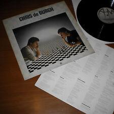 Chris de Burgh - Best Moves LP Vinyl Album 1981