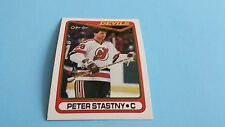 1990/91 O-PEE-CHEE HOCKEY PETER STASTNY CARD #334***NEW JERSEY DEVILS***