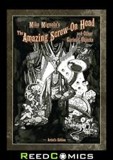 MIKE MIGNOLA SCREW ON HEAD AND CURIOUS OBJECTS ARTIST EDITION HARDCOVER Hardback