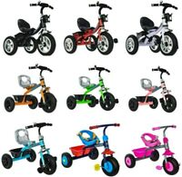 BABY KID CHILDREN TODDLER TRICYCLE RIDE ON TRIKE 3 WHEEL STROLLER BIKE SCOOTER