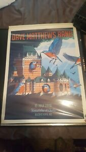 Dave Matthews Band Quebec City 2018 DMB - Canada Poster 7/15/2018 Signed