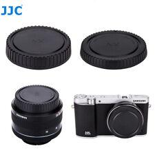 JJC Body Cap Rear+ Rear Lens Cap for SAMSUNG NX Mount Lenses +Cameras NX1 NX300