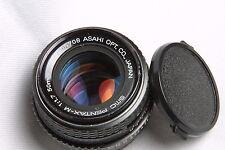 SMC PENTAX M 50mm f1.7 Lens w/caps