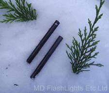 2 x 8mm ferrocerium fire lighting/ignition steel blanks bushcraft survival